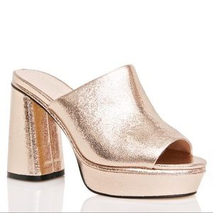 Shelly's Cupid Platform Mules